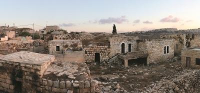 البلدة القديمة في بيت حنينا ( القدس)