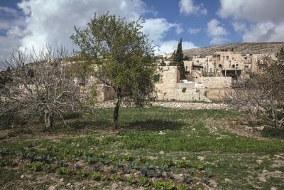 البلدة القديمة في بورين (نابلس)