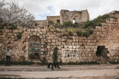 البلدة القديمة في رنتيس (رام الله و البيرة)