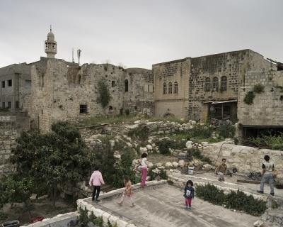 البلدة القديمة في دير استيا (سلفيت)