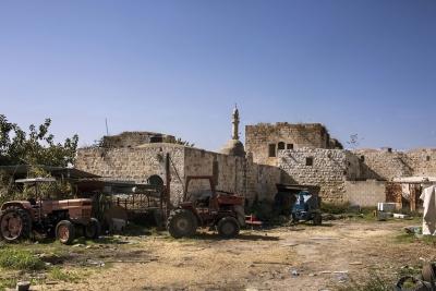 البلدة القديمة في عرّابة (جنين)
